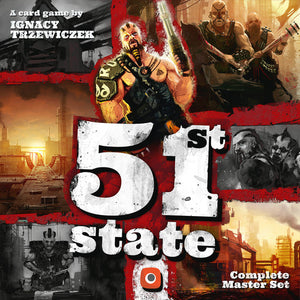 51st State: Master Set - Board Game - The Dice Owl