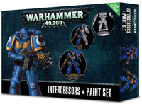 Games Workshop: Warhammer 40,000 Intercessors + Paint Set