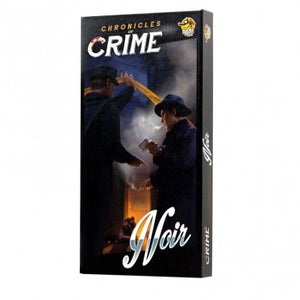Chronicles of Crime: Noir (FR) - Board Game - The Dice Owl