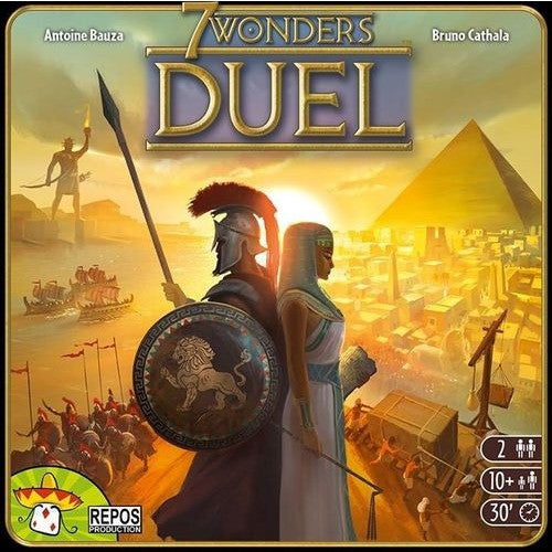 7 Wonders Duel - Board Game - The Dice Owl