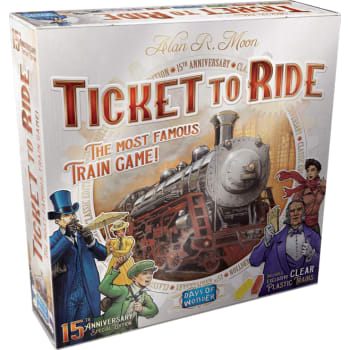 Ticket To Ride: 15th Anniversary Edition - The Dice Owl - Board Game