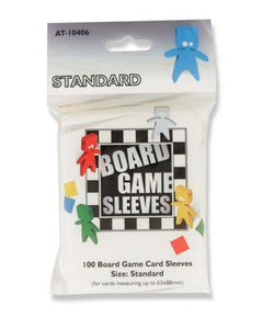 Board Game Sleeves: Standard Sleeves - 63mm x 88mm (100c)