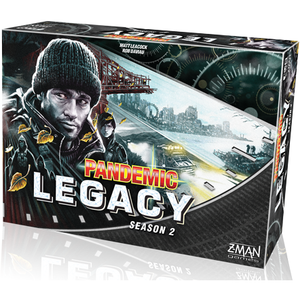 Pandemic Legacy: Season 2 - Black Edition - Board Game - The Dice Owl