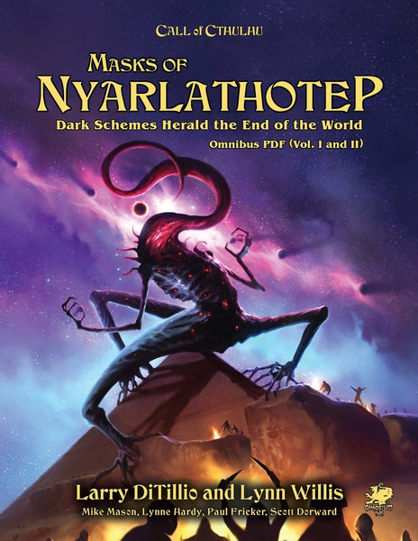 Call of Cthulhu: Masks of Nyarlathotep Slipcase Two Volume Set - RPG - The Dice Owl