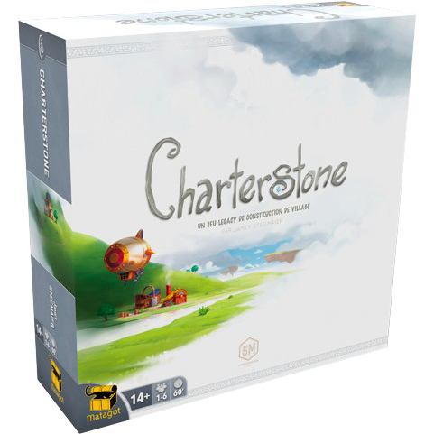 Charterstone (FR) - Board Game - The Dice Owl
