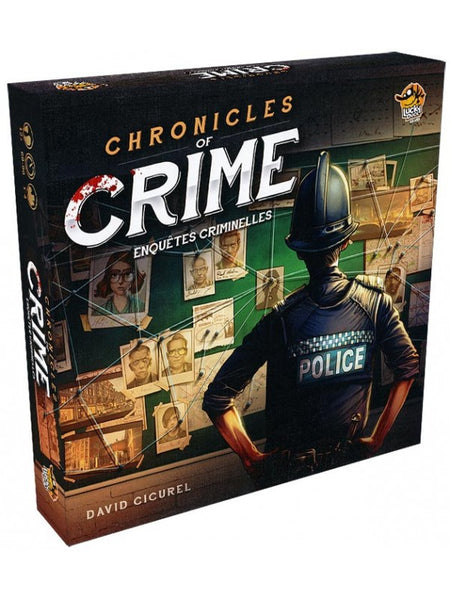 Chronicles of Crime (FR) - Board Game - The Dice Owl