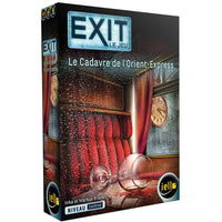 Exit: Le Cadavre de l'Orient Express - The Dice Owl - Board GAme