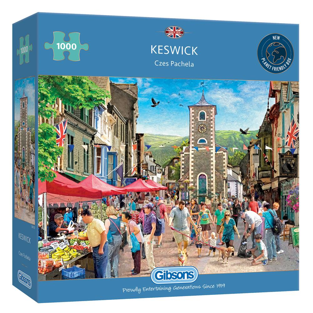Gibsons -  Keswick (1000 pieces)