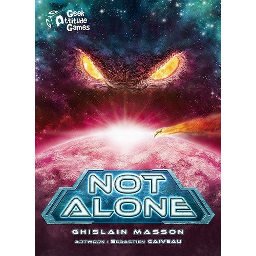 Not Alone - Board Game - The Dice Owl