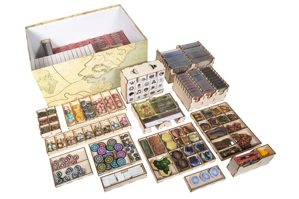 Broken Token - Gloomhaven Organizer with Forgotten Circles - Supplies - The Dice Owl