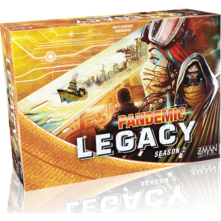Pandemic Legacy: Season 2 - Yellow Edition - Board Game - The Dice Owl