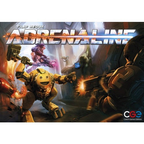 Adrenaline - Board Game - The Dice Owl