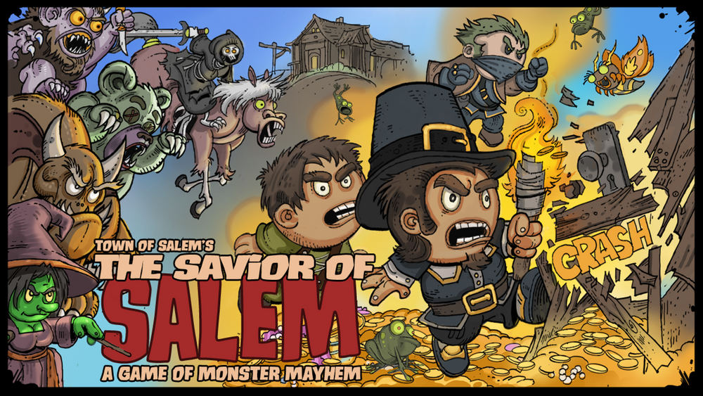 Town of Salem's The Savior of Salem - The Dice Owl