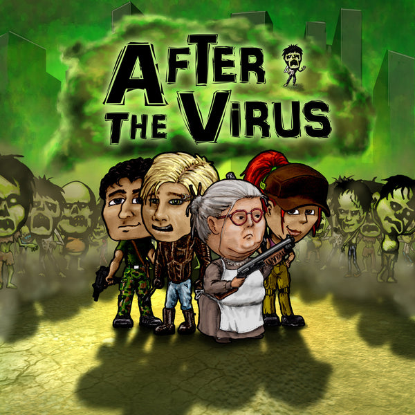 After the Virus - Board Game - The Dice Owl