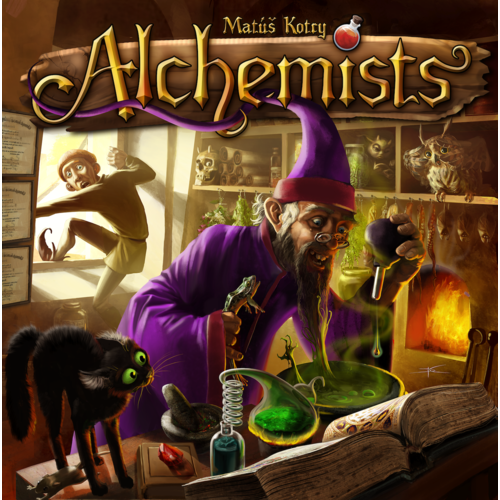 Alchemists - Board Game - The Dice Owl