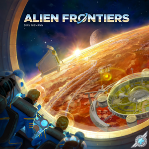 Alien Frontier (5th Edition) - Board Game - The Dice Owl