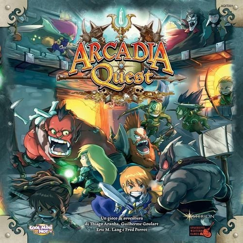 Arcadia Quest - Board Game - The Dice Owl