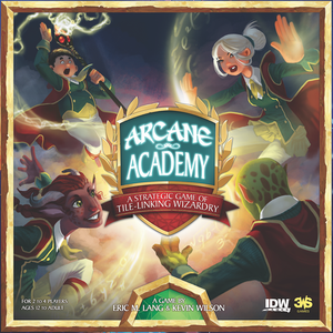 Arcane Academy - Board Game - The Dice Owl