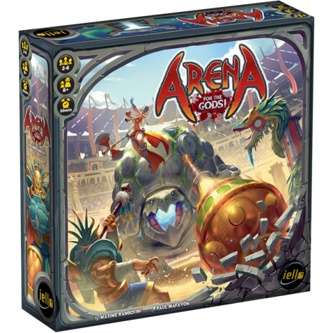 Arena: For the Gods! - Board Game - The Dice Owl
