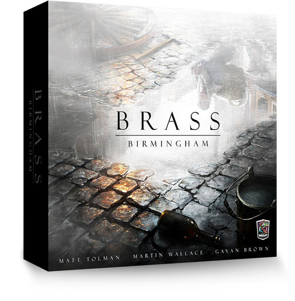 Brass: Birmingham Deluxe (With Iron Clays) - The Dice Owl