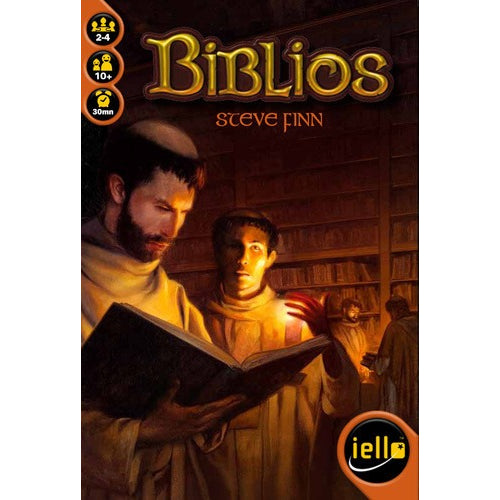 Biblios - Board Game - The Dice Owl