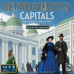 Between Two Cities: Capitals - Board Game - The Dice Owl