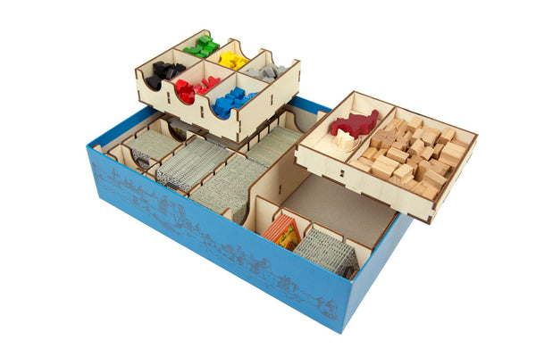 Broken Token - Carcassonne Organizer - Supplies - The Dice Owl