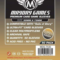 Mayday - Premium Sail of Glory Sleeves 50mm X 75mm (50CT)