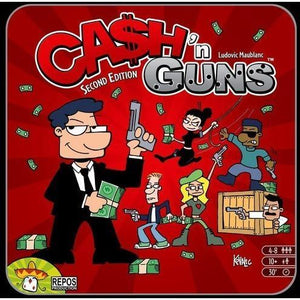 Cash N Guns (second edition) - Board Game - The Dice Owl