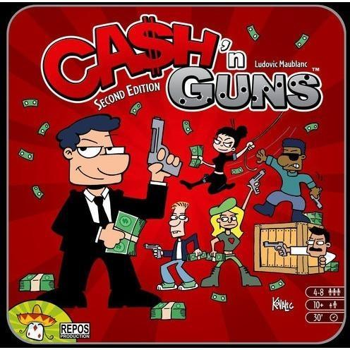 Ca$h N Guns (second edition) - Board Game - The Dice Owl