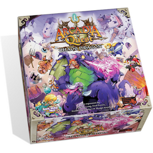 Arcadia Quest: Chaos Dragon - Board Game - The Dice Owl