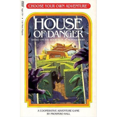 Choose Your Own Adventure: House of Danger - Board Game - The Dice Owl