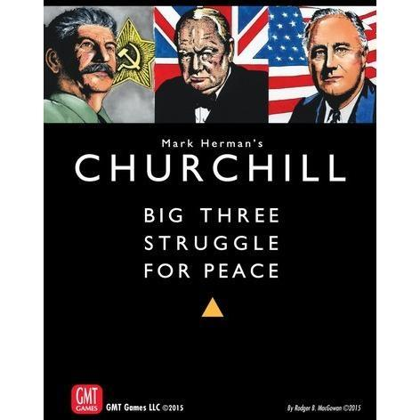 Churchill (2nd printing) - Board Game - The Dice Owl