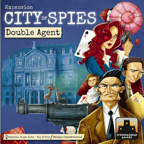 City of Spies: Double Agent - Board Game - The Dice Owl
