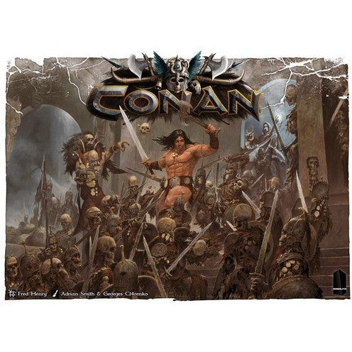 Conan - Board Game - The Dice Owl