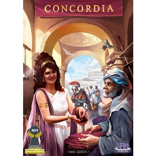 Concordia - Board Game - The Dice Owl