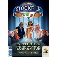 Stockpile: Continuing Corruption - Board Game - The Dice Owl