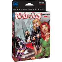 DC Comics Deck-Building Game: Crossover Pack 6 – Birds of Prey - Board Game - The Dice Owl