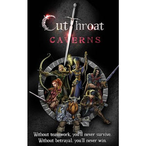 Cutthroat Caverns - Board Game - The Dice Owl