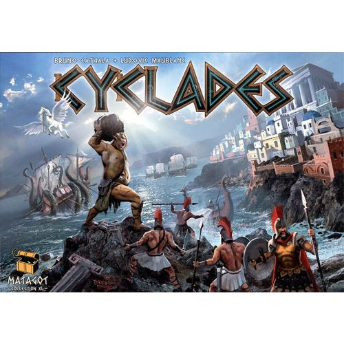Cyclades - Board Game - The Dice Owl