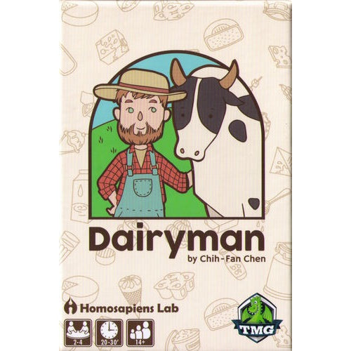 Dairyman - Board Game - The Dice Owl