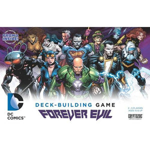 DC Comics Deck-Building Game: Forever Evil - Board Game - The Dice Owl