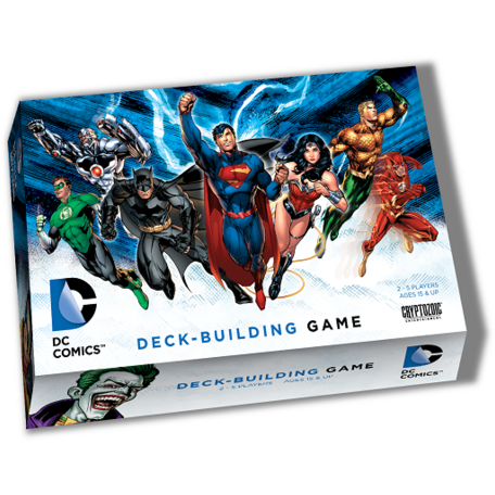 DC Comics Deck-Building Game - Board Game - The Dice Owl
