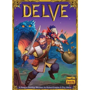 Delve - Board Game - The Dice Owl