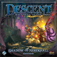 Descent: Shadow of Nerekhall - Board Game - The Dice Owl
