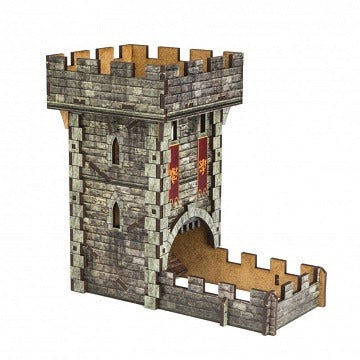 Dice Tower - Medieval (Colour) - Board Game - The Dice Owl