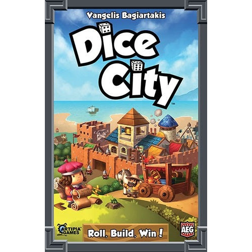 Dice City - Board Game - The Dice Owl