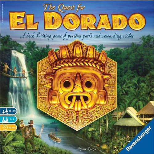 The Quest for El Dorado - Board Game - The Dice Owl