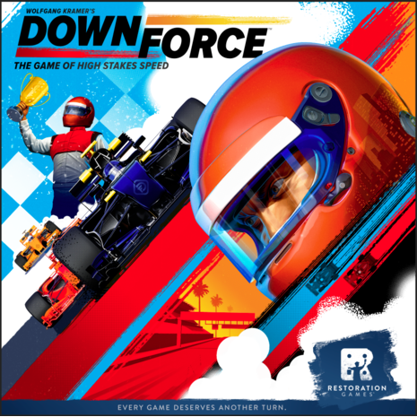 Downforce - Board Game - The Dice Owl