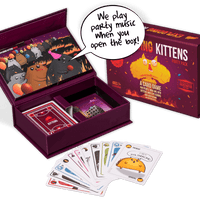 Exploding Kittens: Party Pack - The Dice Owl